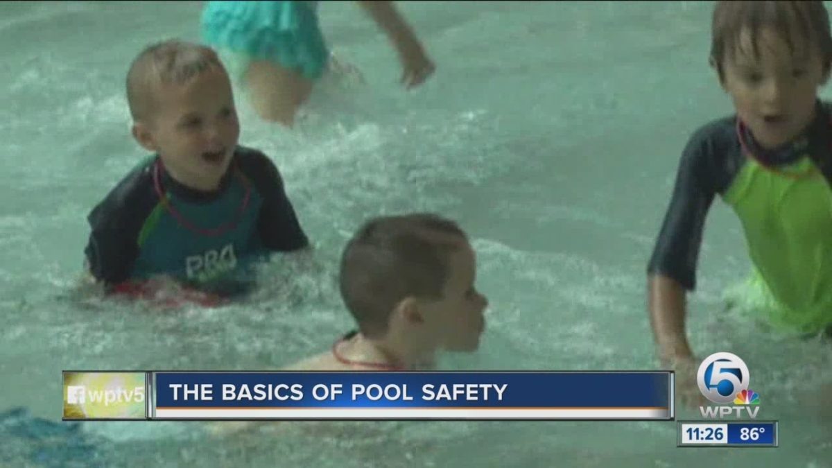 Does your child know the basics of pool safety?