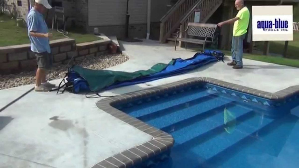 Winterize An Inground Pool Install A Safety Cover Pools